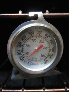 Oven Thermometer calibration